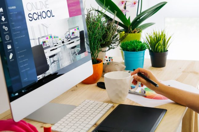 online course digital scrapbook