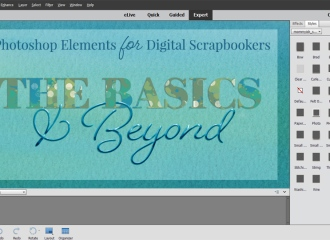 The-Basics-and-beyond-online-course-digital-scrapbooking